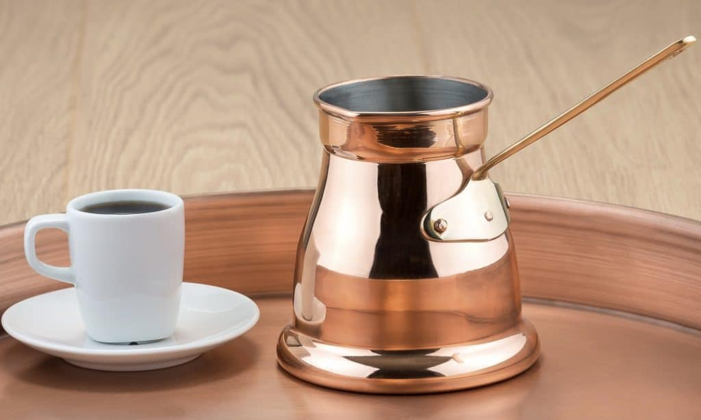 Ibrik coffee maker