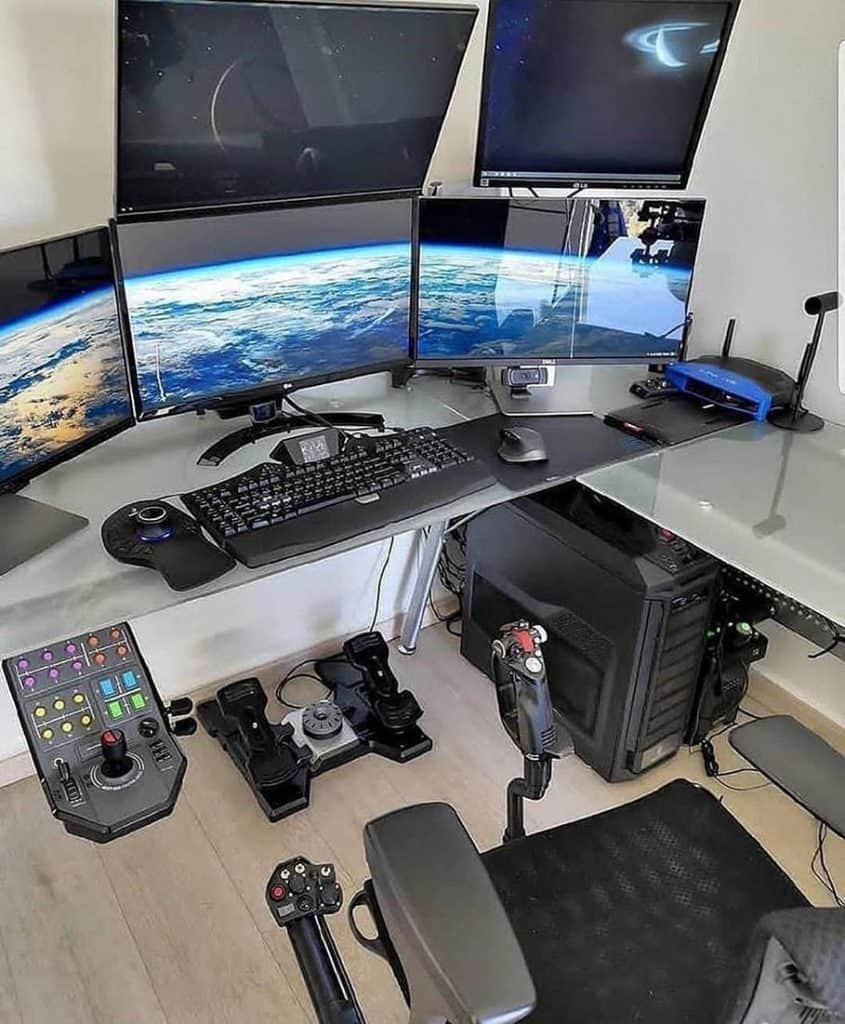 Simple Game Station (by. @pc_bits.builds_)