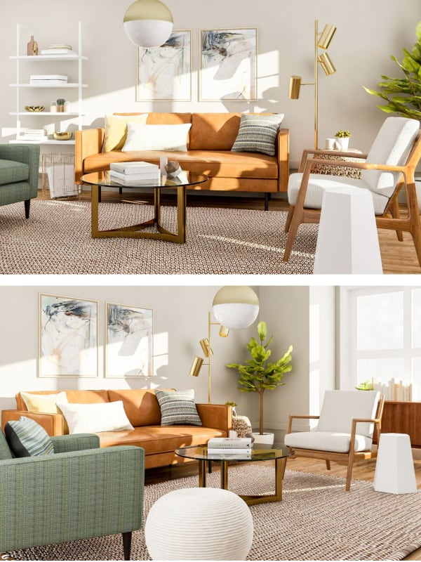 breathtaking mid century modern living room design | 20 Breathtaking Mid-Century Modern Living Room Ideas