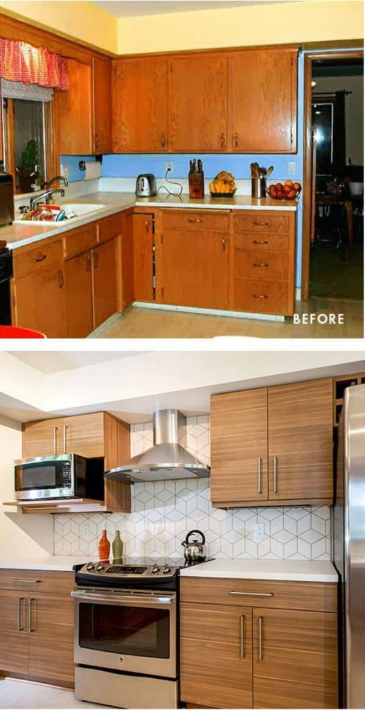 Mid-Century Modern in a Contemporary Look (by. crystalkitchen.com)