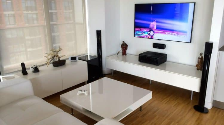Elegant Video Game Room