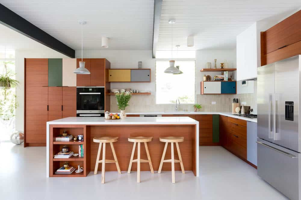 20 Stunning Designs Of Mid Century Modern Kitchen