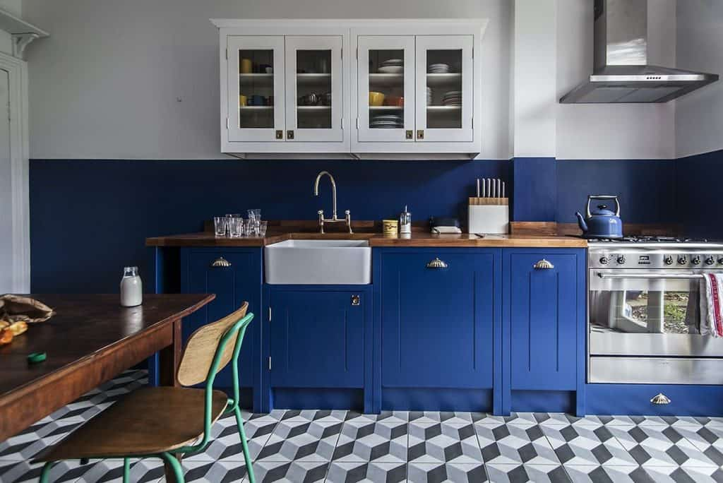 Joyful Shade of Blue (by. remodelista.com)