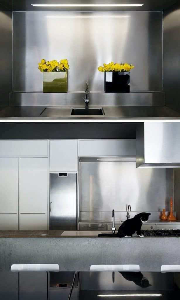 Glow in Silver (by. contemporist.com)