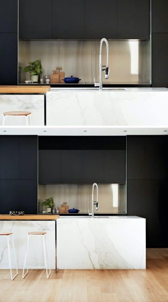 Classy Silver and Black (by. contemporist.com)