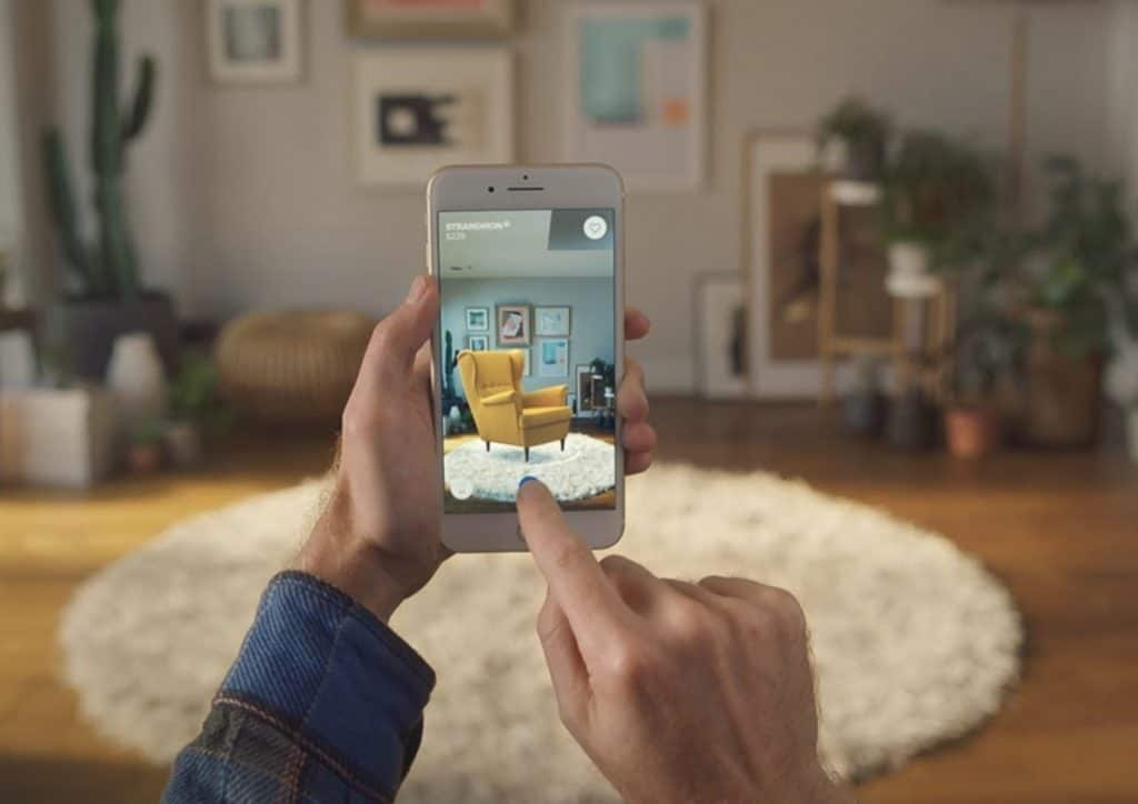 IKEA Place virtual home building