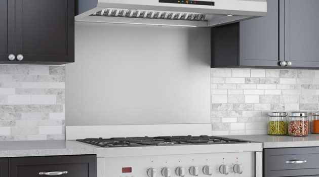 Stainless Steel Backsplashes Ideas