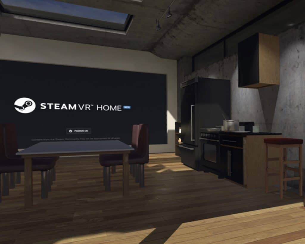 VR Home on steam