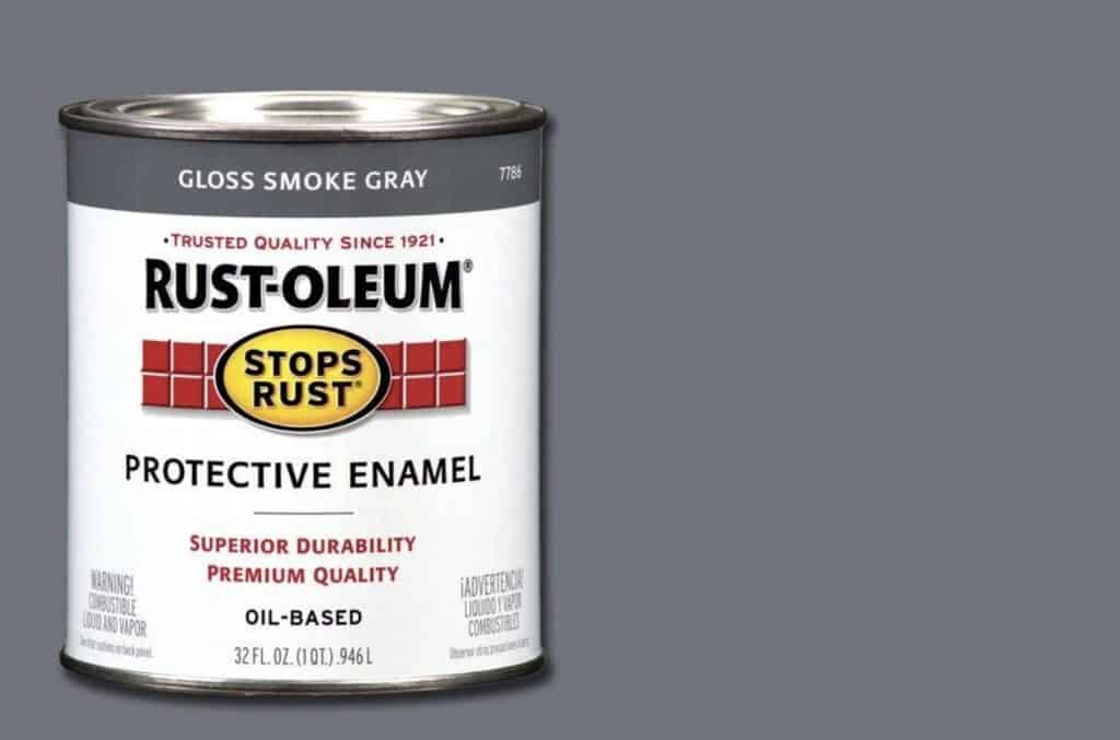 Rustoleum metal paint