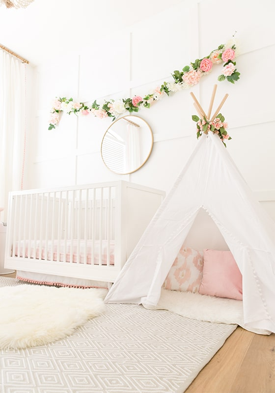 Blush Pink Baby Girl Nursery