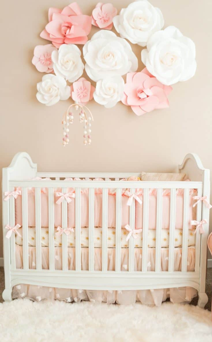Pink Cute Baby Girl Nursery
