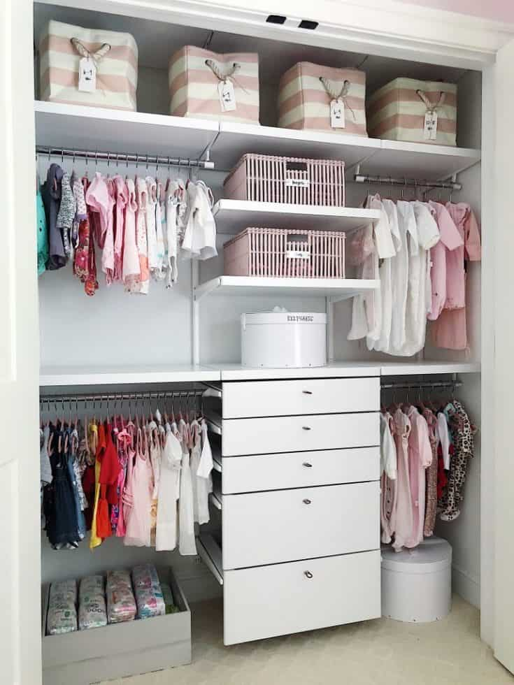 Baby Girl Storage Cabinets