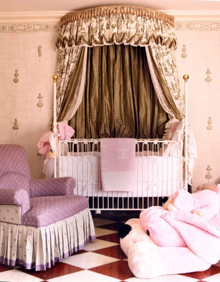 European Style Baby Girl Room Ideas