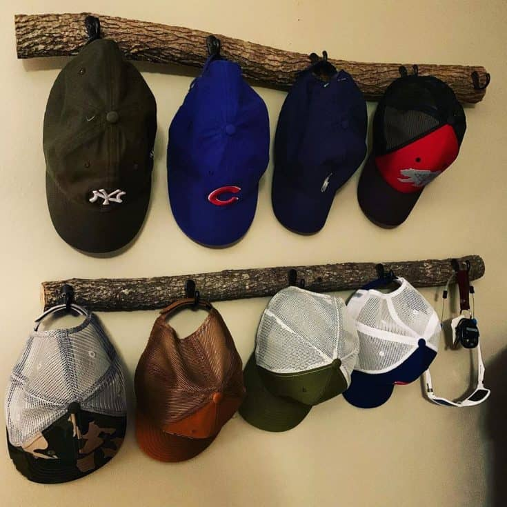 20 DIY Hat Rack Ideas for Beautiful Headgear Display