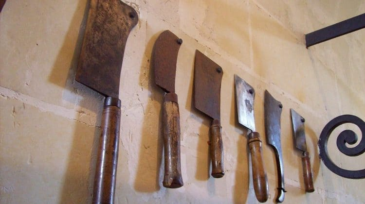 Types of Kitchen Knives