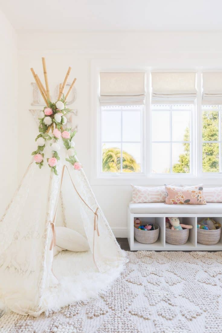 Spanish Revival Baby Girl Nursery