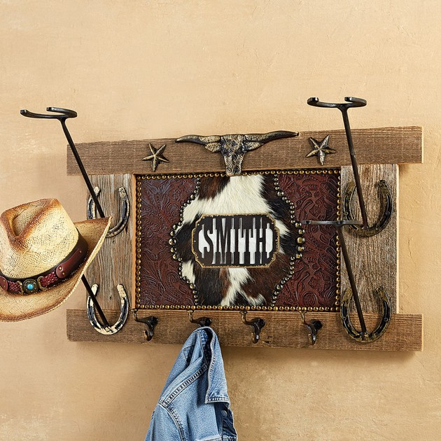 Cool Cowboy Hat Rack with Name
