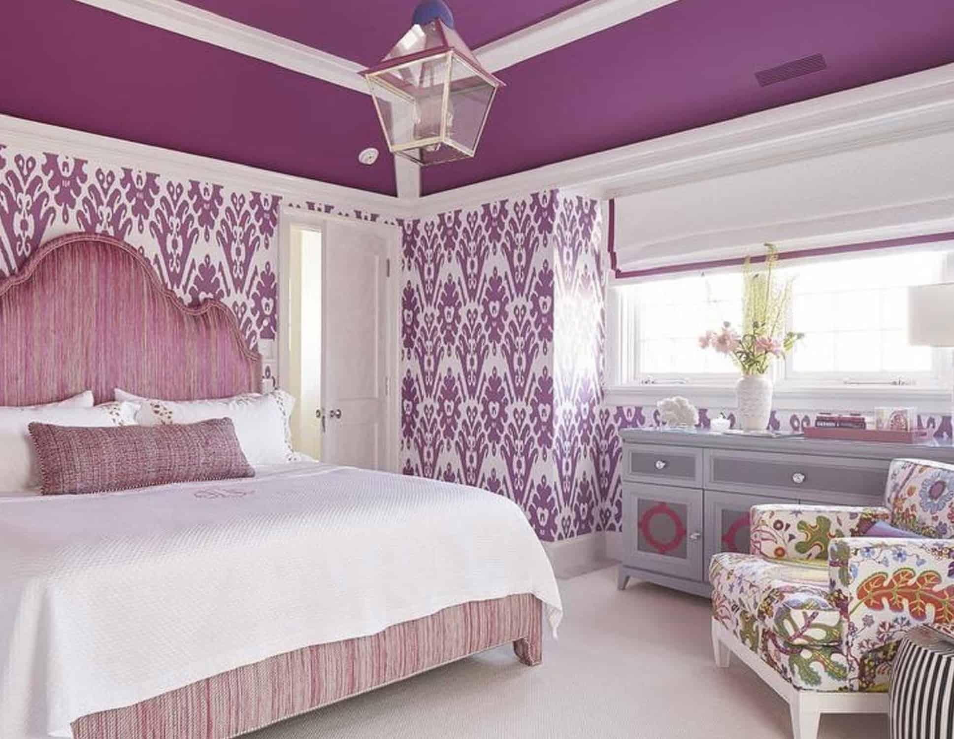 astounding luxury purple bedroom idea | 20 Amazing Purple Bedroom Ideas