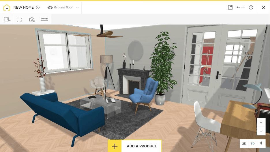 HomeByMe floor plan