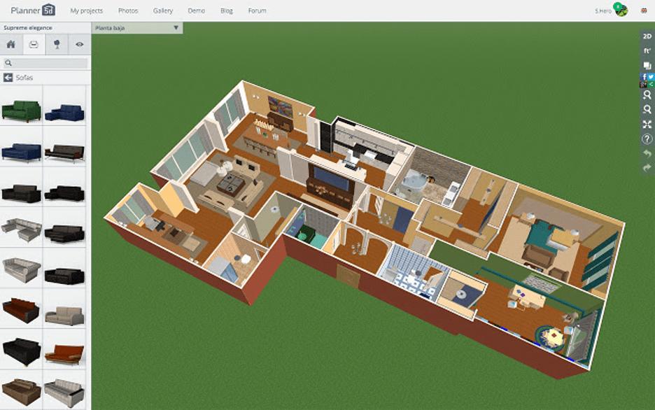 Planner 5D floor plan